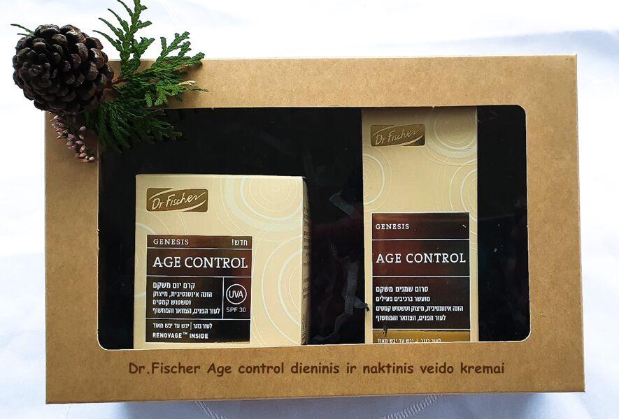 Age Control atkuriamasis ir atstatomasis dieninis ir naktinis veido kremai