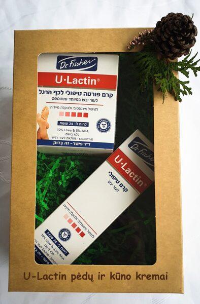 U-lactin Forte pėdų kremas ir kūno kremas su urea, pieno rūgštimi ir salicilo rūgštimi