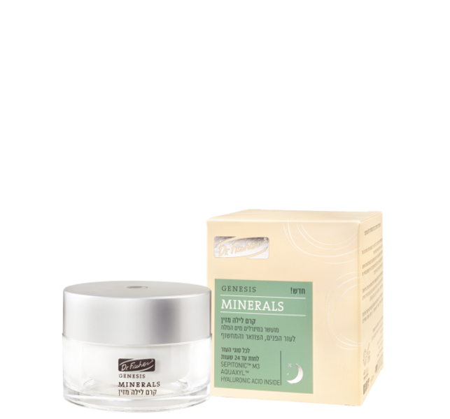 Genesis Minerals Night Cream – For all skin types