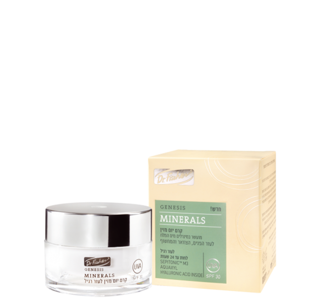 Genesis Minerals   Day Cream – For normal skin SPF30, 50 ml