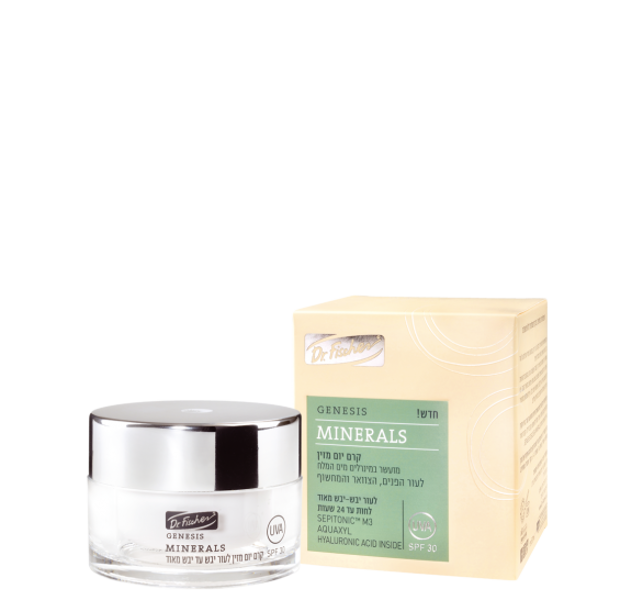 Genesis Minerals Day Cream – For dry to extra dry skin SPF30, 50 ml